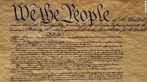 Photo of the US Constitution